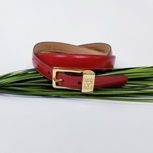Anne Klein Red Belt  Sz M